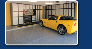 Tech Series Garage line - Organization and Flooring