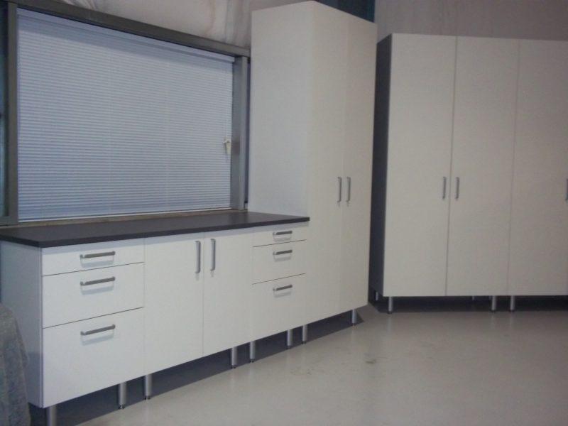 Euro Style Cabinets Everett Washington   Garage Floors Seattle By 5 Star  Garage Interiors